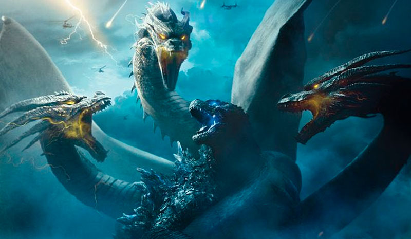 Reseña: Godzilla 2 El Rey de los Monstruos