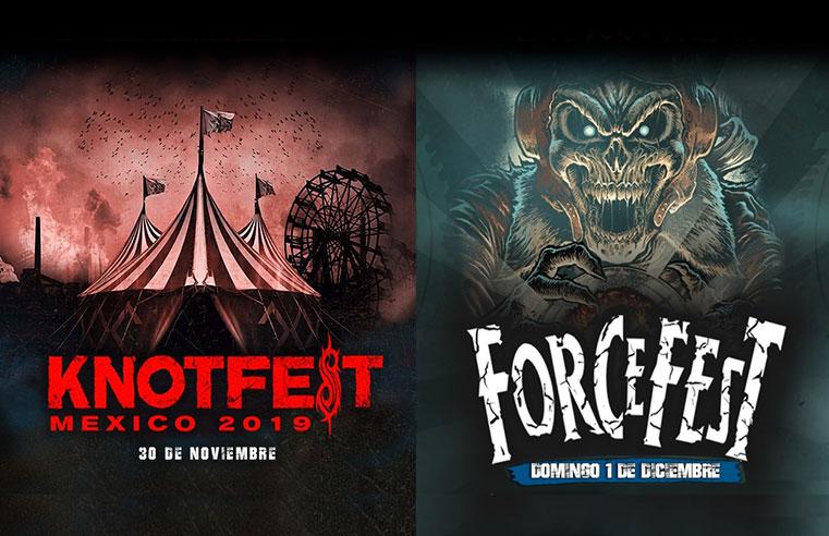 Knotfest y Force Fest 2019