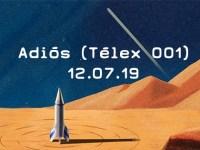 """Roy Cañedo presentará """"Adiós (Télex 001)"""""""