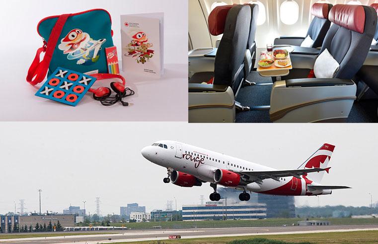 Air Canada nuevos servicios a sus más jóvenes viajeros
