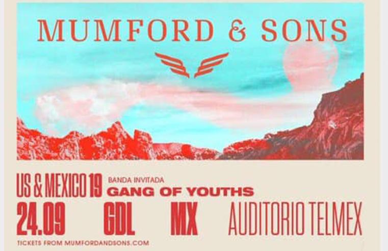Mumford and Sons  en Guadalajara