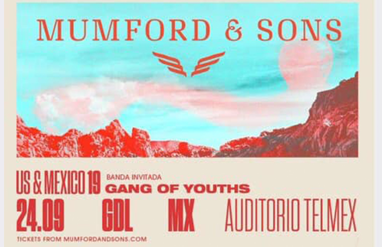 Mumford and Sons  en Guadalajara