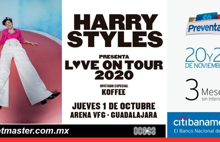 Harry Styles Love On Tour 2020 México