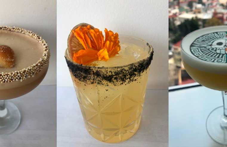 Cocteles inspirados en el Día de Muertos con Tequila Volcán de mi Tierra