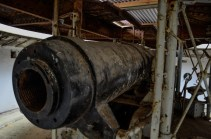 Fort Island, disappearing gun