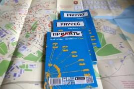 Pripjat Stadtplan