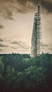 Duga Radarstation in Tschernobyl