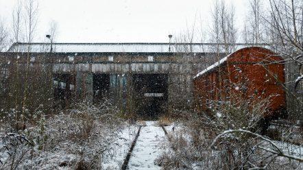 SNCB DEPOT M Cimetière de locomotives 043