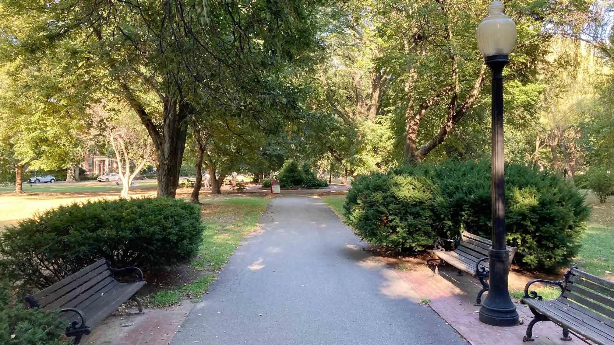 Knyvet Square in Brookline MA