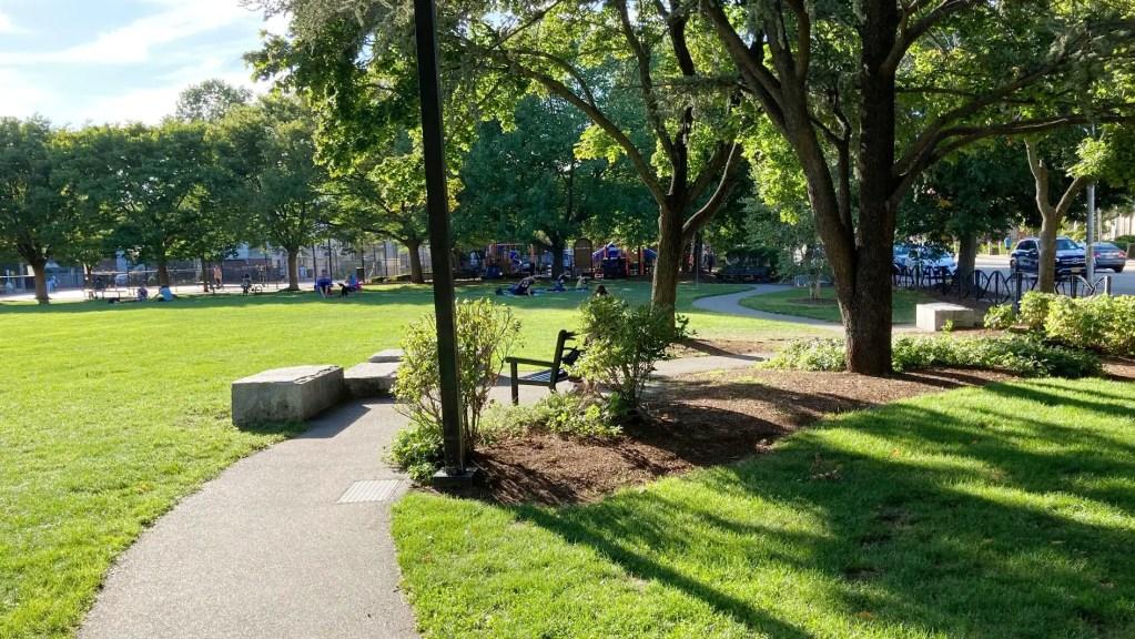 Sennott Park Cambridge MA