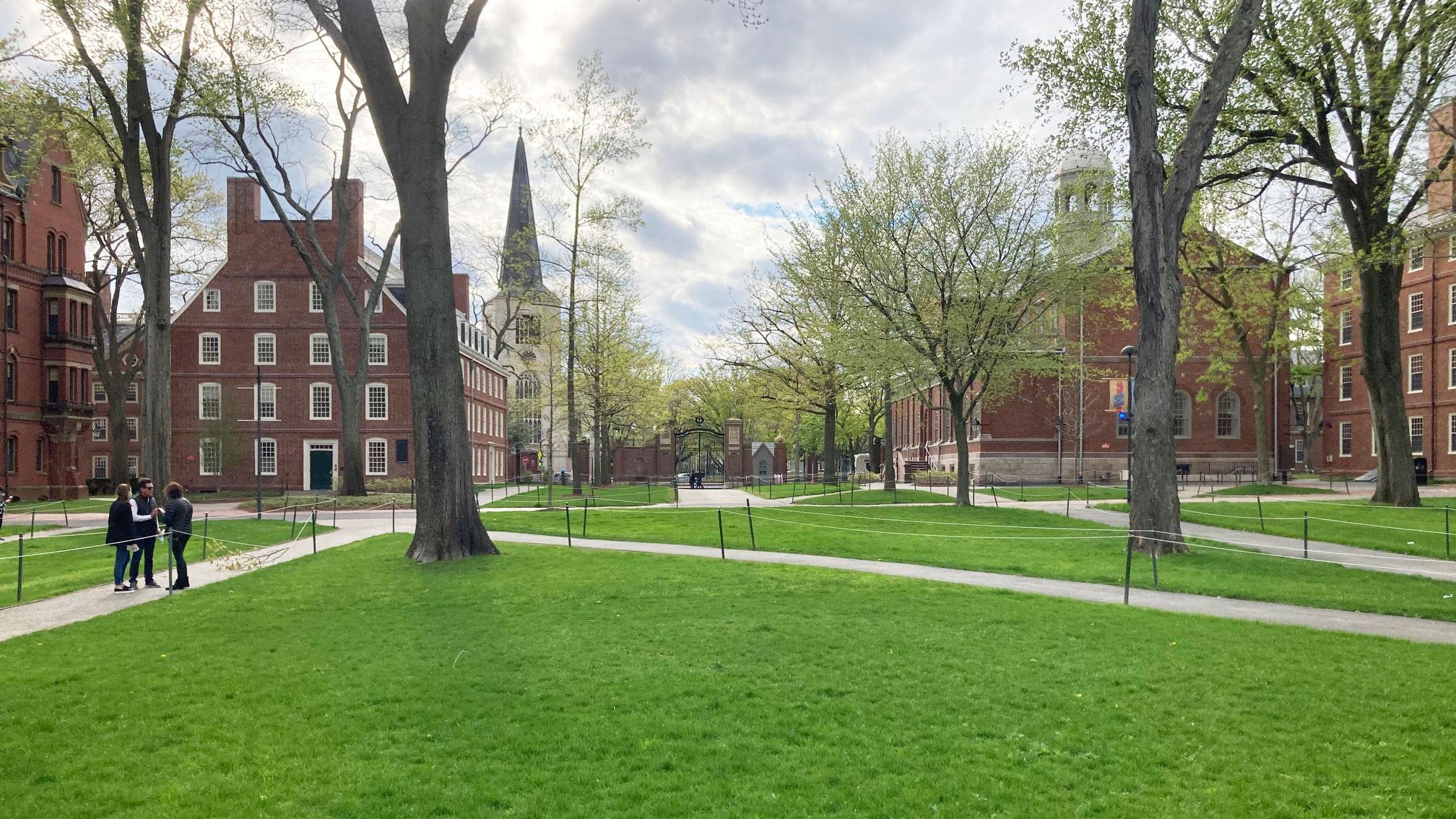 Harvard yard cambridge ma