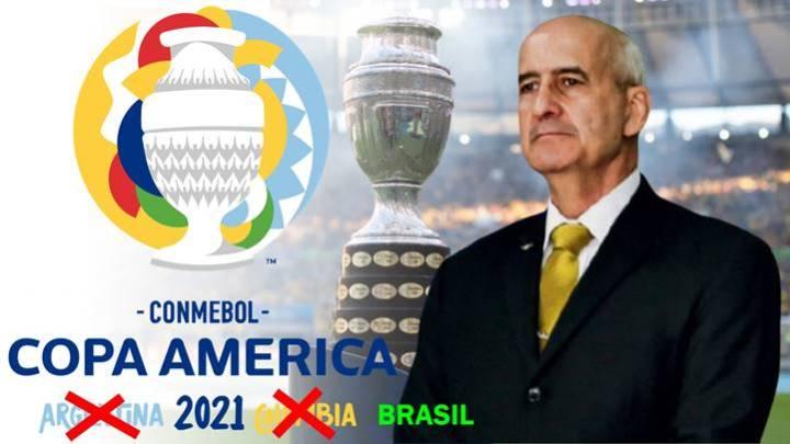 """Eduardo Ramos: """"Não sei por que algumas pessoas se pronunciaram contra"""" a Copa América"""