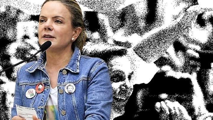 """Gleisi Hoffmann apóia manifestações deste sábado: """"solidariedade ao povo que sofre"""""""