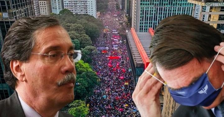 """Merval Pereira: """"Há documentos suficientes [na CPI]; Bolsonaro é culpado pelos mortos brasileiros"""""""