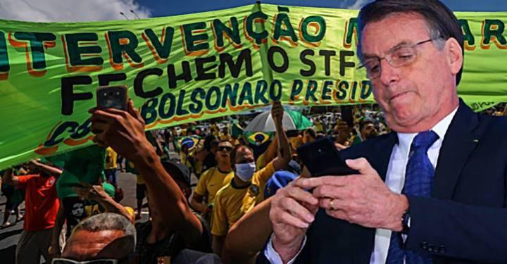 Perfil falso no Facebook foi acessado da casa de Bolsonaro no Rio e do Palácio do Planalto