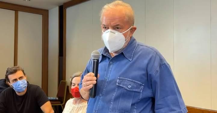 No Rio, Lula se encontra com lideranças, ativistas e comunicadores