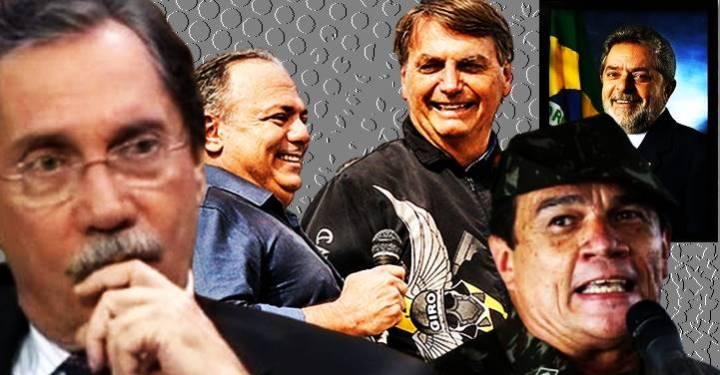 Militares não puniram Pazuello para dar respaldo político a Bolsonaro, com medo de LULA voltar