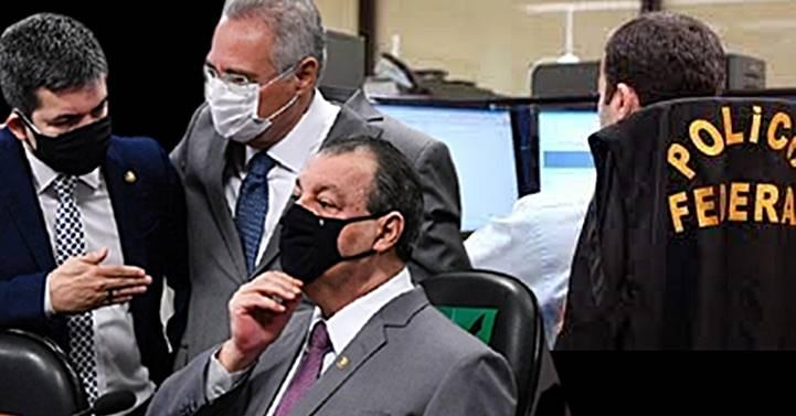 """""""Com máxima urgência"""": Comando da CPI da Covid pede ajuda da Polícia Federal"""
