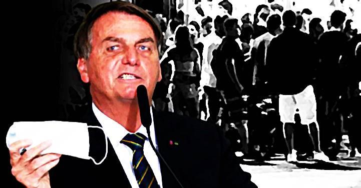 """Bolsonaro sugere derrubar máscara, """"o gado ouve o berrante e vai para o boteco"""", diz colunista gastronômico"""
