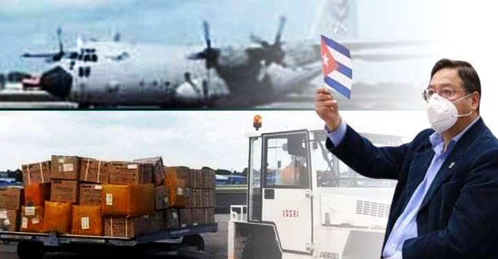 Chega a Cuba avião da Bolívia com 20 toneladas de ajuda humanitária