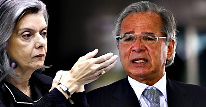 Cármen Lúcia envia à PGR pedido de impeachment de Guedes