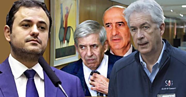 Glauber Braga pede convocação de Heleno e Ramos para explicar reunião secreta com a CIA