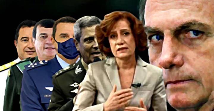 Leitão: Bolsonaro ataca a democracia brasileira e os militares dão cobertura