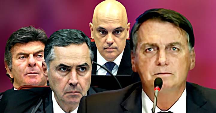 """Ministros do STF chamam Bolsonaro de """"moleque"""" e TSE está pronto para agir contra o presidente"""