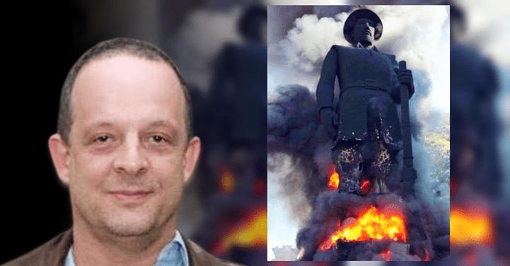 """Borba Gato em chamas  é ato político que """"exalta a rebelião e o ódio contra o opressor"""", diz jornalista"""