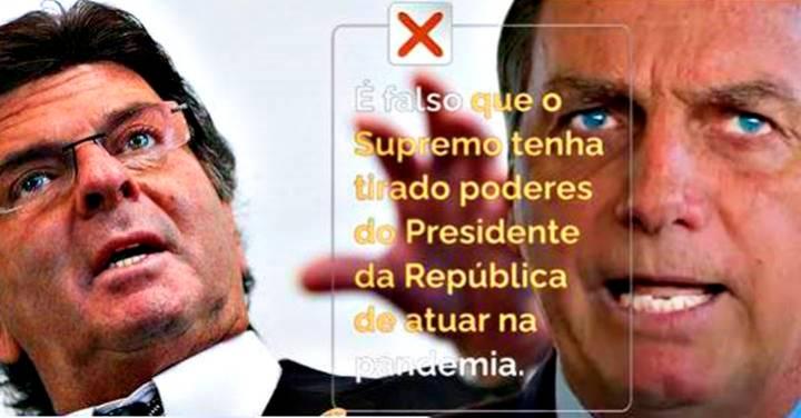 Bolsonaro dá trabalho para o Supremo, que pela 10ª vez tem que desmentir fake news