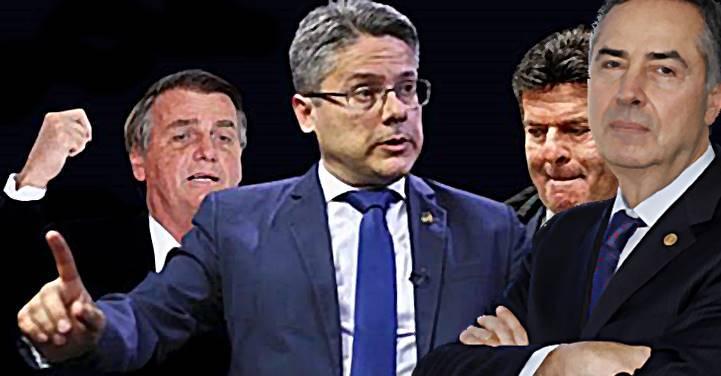 Alessandro Vieira vai ao STF e pede que Bolsonaro apresente provas de fraude eleitoral