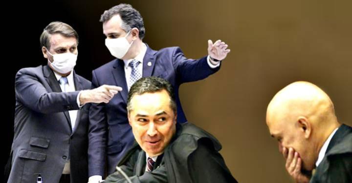 Bolsonaro pedirá no Senado impeachment de Alexandre de Moraes e Roberto Barroso