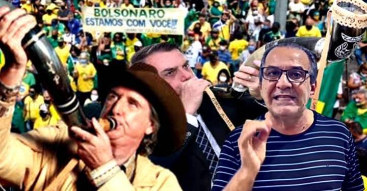 [Vídeos] Sergio Reis e Malafaia organizam paralização e atos pró-Bolsonaro e contra o STF