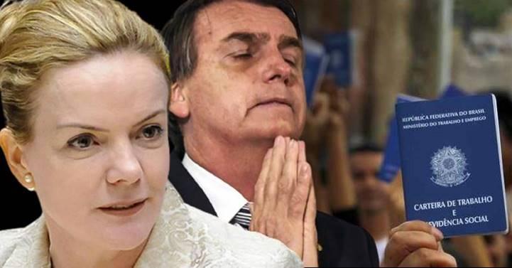 """Com Bolsonaro, """"nem reza braba"""", diz Gleisi ironizando pedido de orações contra desemprego e inflação"""