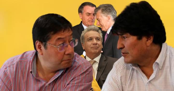 Luis Arce mapeia golpe contra Morales, chega no Equador, na Argentina e está vindo para o Brasil