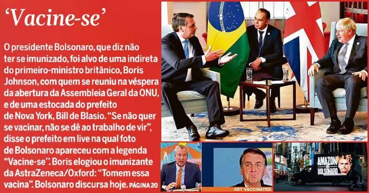A imagem do Brasil derrete junto com Bolsonaro, diz André Trigueiro sobre 'tamanho vexame' em Nova Iorque