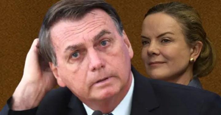"""""""Bolsonaro é genocida ou não é? É sim"""", diz Gleisi. """"O que Bolsonaro fez com o país, meu Deus"""""""