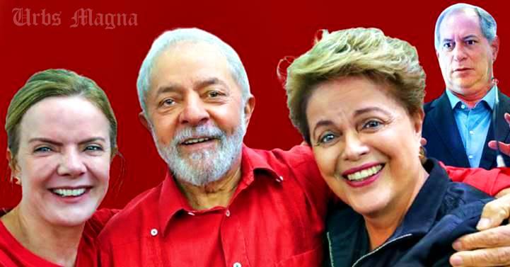 """Desesperado por votos"", Ciro Gomes ""só é notícia ofendendo Lula e Dilma"", diz Gleisi Hoffmann"