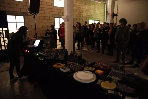Shelley Parket at White Building Opening