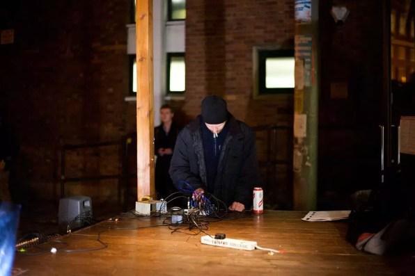 Ryan Jordan at New-X-ing Noise on Noise 2012
