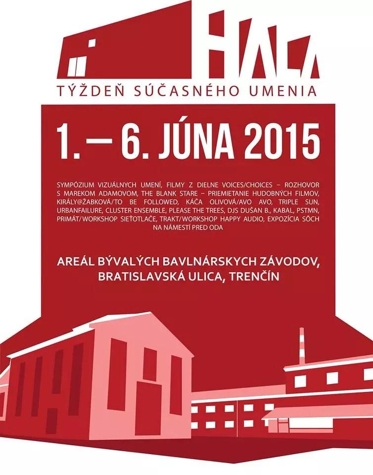 06 June 2015 :: urbanfailure live performance - Hala Trencin - week of contemporary art
