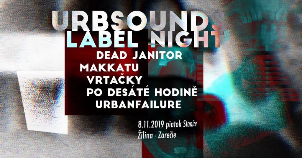 Urbsounds label night Zilina