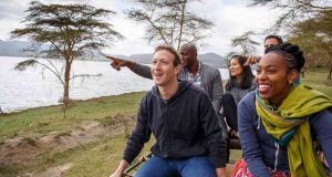 Mark Zuckerberg tourist Nairobi