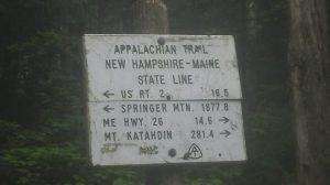 Maine border