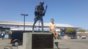 Matt and Gandhi