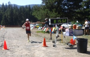 White River 50 finish