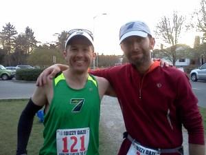 Dizzy Daze; 12 hour race; Seattle ultra; Matt Urbanski; Urbanski Coaching; Arya Farahani