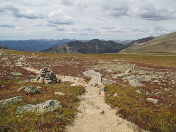 The flat top portion of the Rocky Mountain National Park loop.