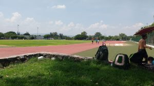 The nice track at Parque 2000