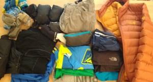 The majority of Matt's clothes
